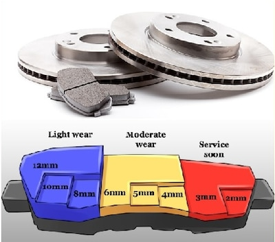 Any Brake PAD Replacement and ROTOR Resurface or Replacement $25.00 OFF
