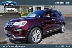 2018 Ford Explorer Limited SUV Front-wheel Drive