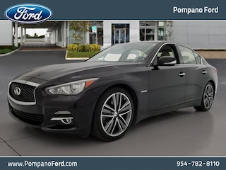 2015 INFINITI Q50 HYBRID Premium with Navigation Package Sedan