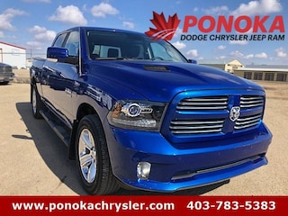 2016 Ram 1500 Sport, Crew Cab, Spray-In Box-Liner Truck Crew Cab