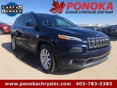 2015 Jeep Cherokee Limited, AWD, Heated Seats & Steering Wheel, SUV