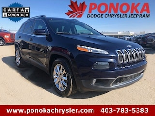2015 Jeep Cherokee Limited, AWD, Heated Seats & Steering Wheel, SUV