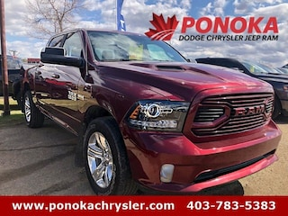 2018 Ram 1500 Sport, Accident Free, One Owner, Crew Cab Truck Crew Cab