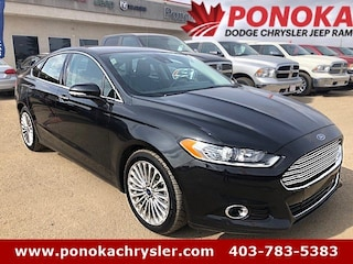 2015 Ford Fusion Titanium, AWD, Remote Start, Navigation, LOW KM Sedan