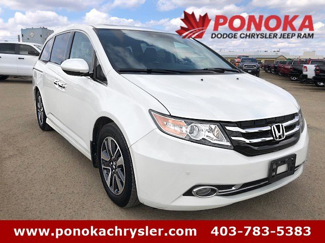 2014 Honda Odyssey Touring, NAVI   R.CAM   8 PASS   HEATED LEATHER SE Van