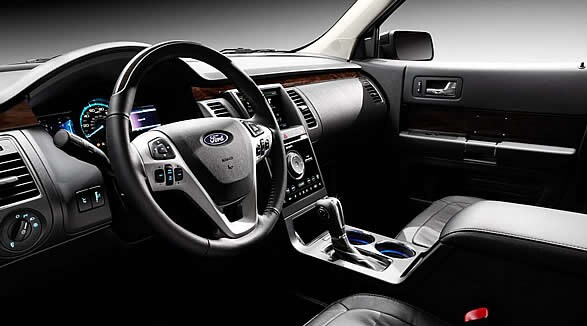 2015 Ford Flex Interior Dashboard