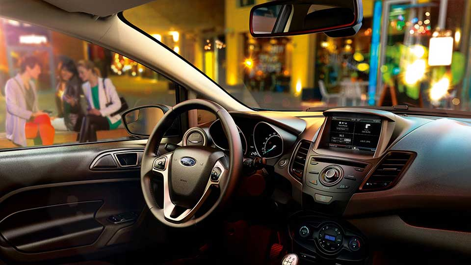 2015 Ford Fiesta Interior