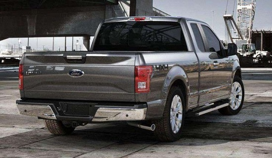 2015 Ford F-150 Exterior Rear