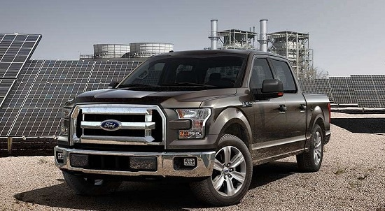 2015 Ford F-150 XLT Exterior Front