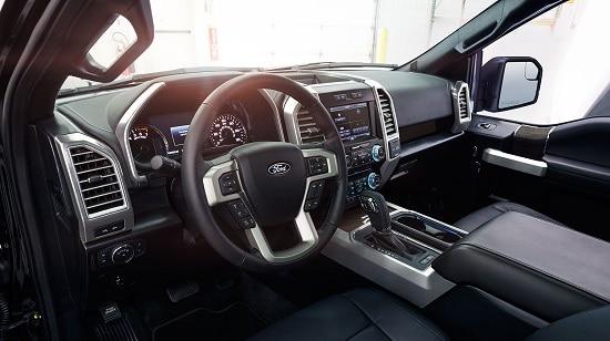 2015 Ford F-150 Lariat Interior US Model