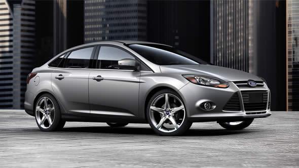 2014 Ford Focus Titanium Exterior Front