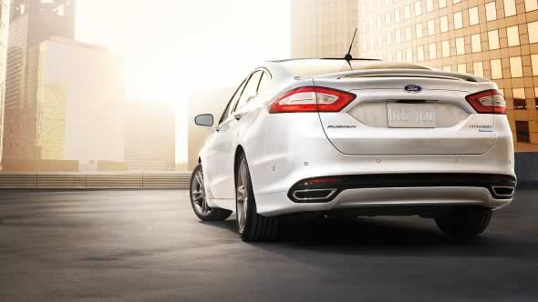 2015 Ford Fusion Exterior Rear