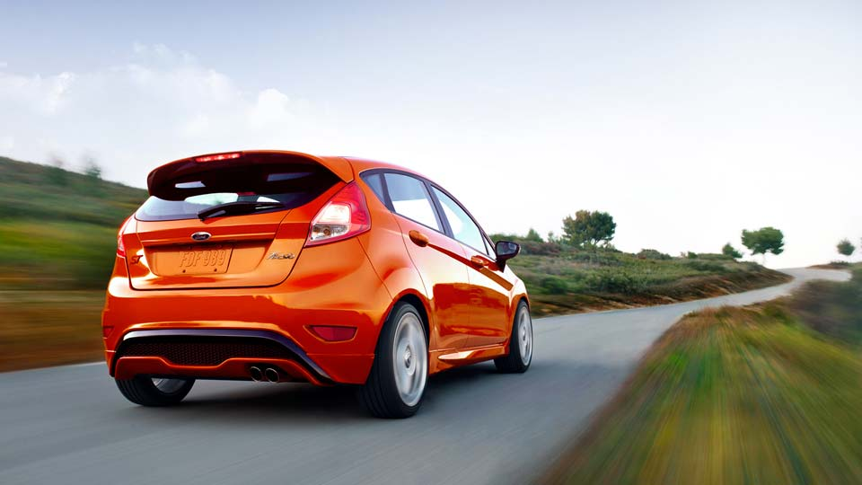 2015 Ford Fiesta Exterior Rear View
