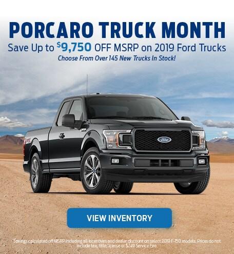 Porcaro Truck Month