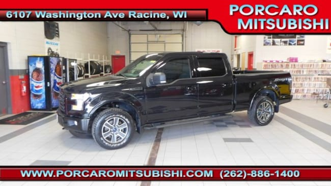 Used 2015 Ford F-150 Truck SuperCrew Cab For Sale Racine, WI