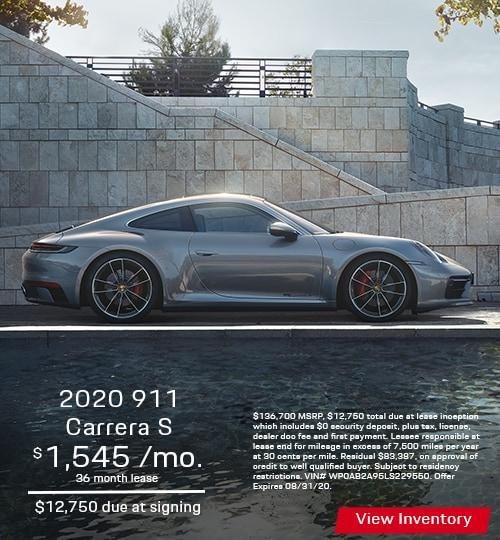2020 911 Carrera S Coupe