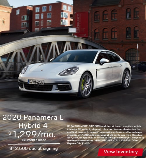 2020 Panamera E-Hybrid