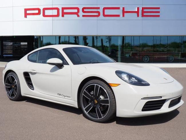 Certified Used 2018 Porsche 718 Cayman Coupe 2dr Car For Sale in Chandler