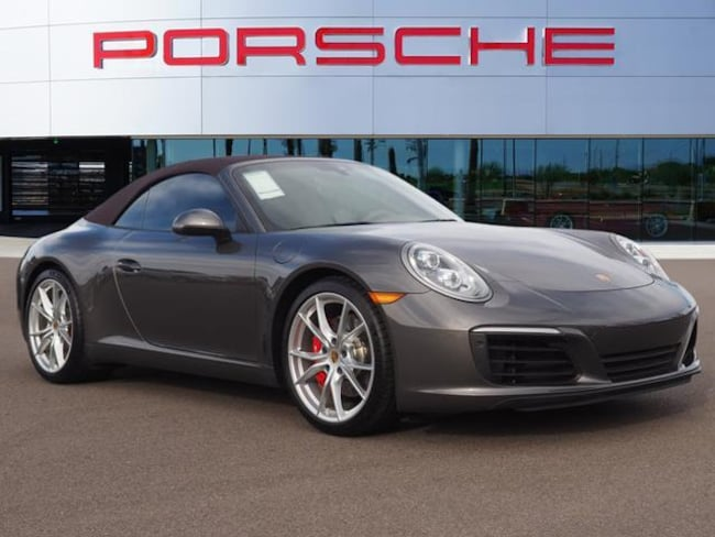 New 2018 Porsche 911 Carrera S Cabriolet Convertible For Sale in Chandler