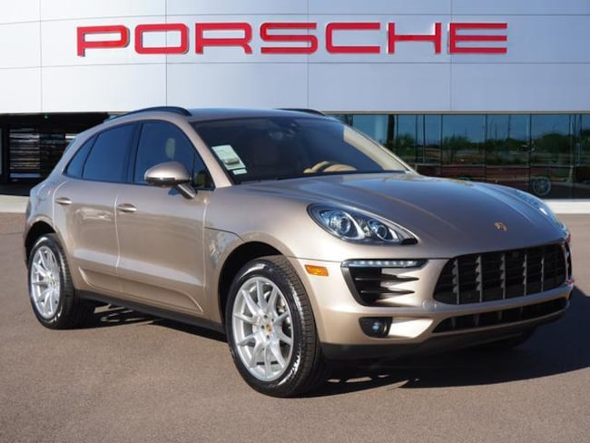 Certified Used 2017 Porsche Macan S AWD Sport Utility For Sale in Chandler
