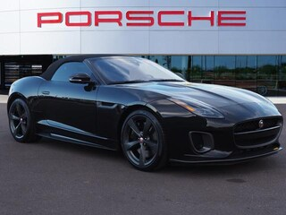 Used 2018 Jaguar F-TYPE Convertible Auto 400 Sport Convertible SAJDF5GV4JCK51832 for sale in Chandler, AZ at Porsche Chandler