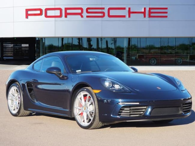 New 2019 Porsche 718 Cayman S Coupe 2dr Car For Sale in Chandler