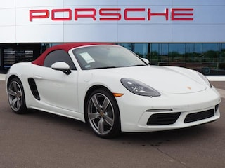 New 2019 Porsche 718 Boxster Roadster Convertible WP0CA2A85KS210577 for sale in Chandler, AZ at Porsche Chandler