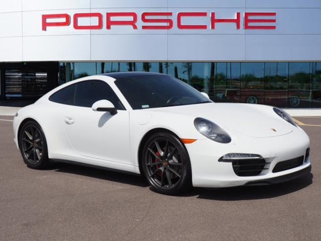 Certified Used 2014 Porsche 911 2dr Cpe Carrera 4S 2dr Car For Sale in Chandler