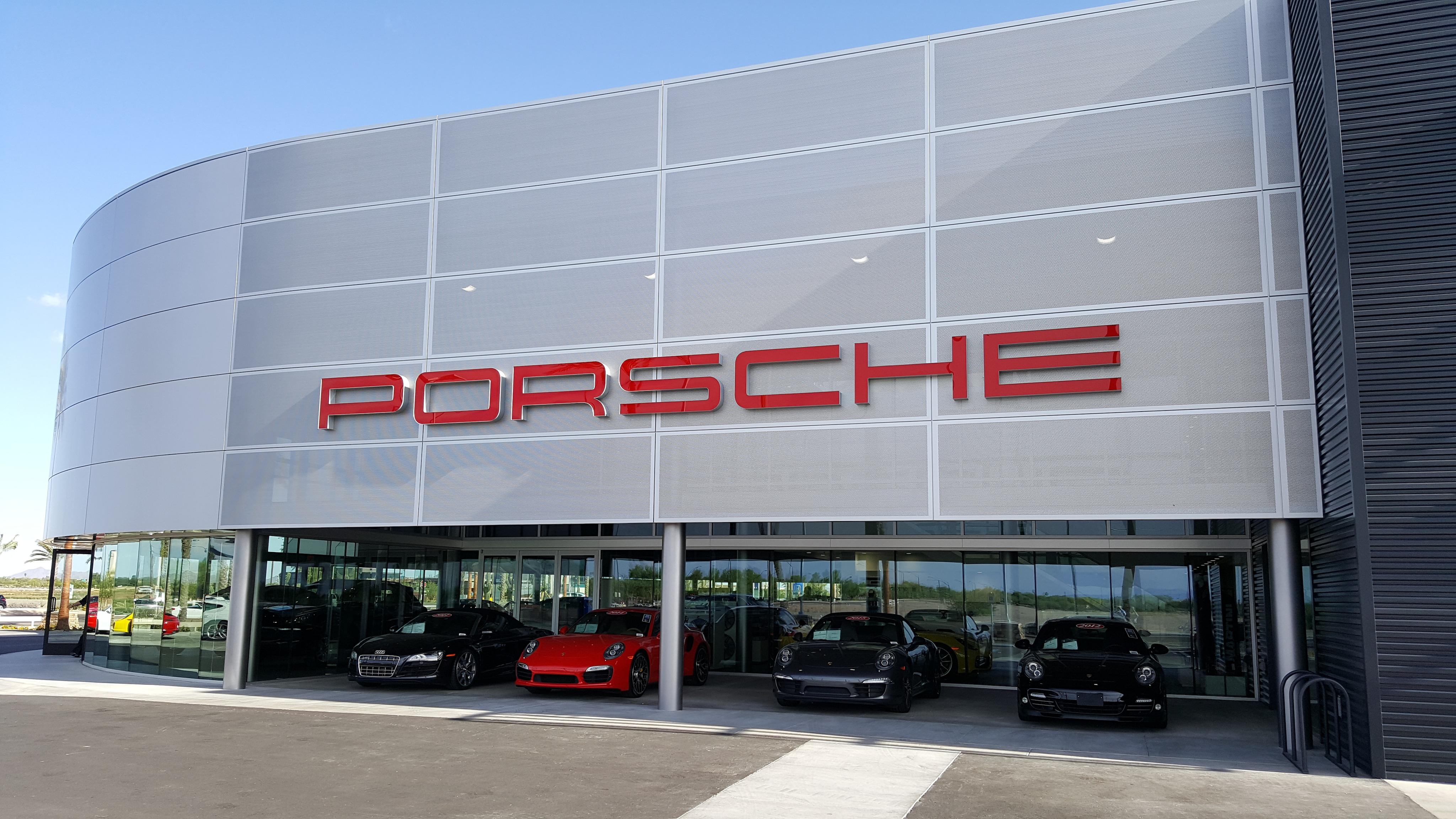 Porsche Chandler New Porsche Dealership In Chandler Az 85286