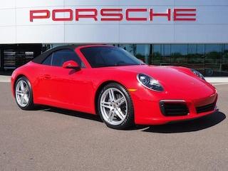 Certified 2017 Porsche 911 Carrera Cabriolet WP0CA2A9XHS142097 for sale in Chandler, AZ at Porsche Chandler