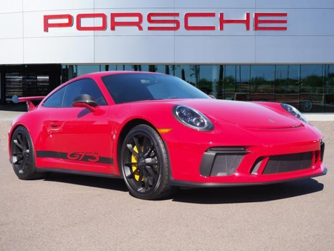 Certified Used 2018 Porsche 911 GT3 Coupe 2dr Car For Sale in Chandler