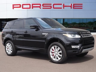 Used 2017 Land Rover Range Rover Sport V8 Supercharged Sport Utility SALWR2FEXHA151618 for sale in Chandler, AZ at Porsche Chandler