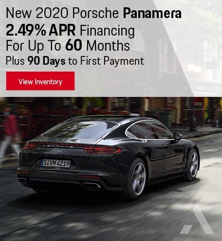 New 2020 Porsche Panamera APR/90 Day Payment