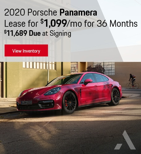 Porsche Panamera Lease