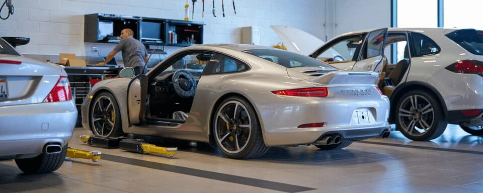 Porsche Service Center Porsche Irvine - Porsche service