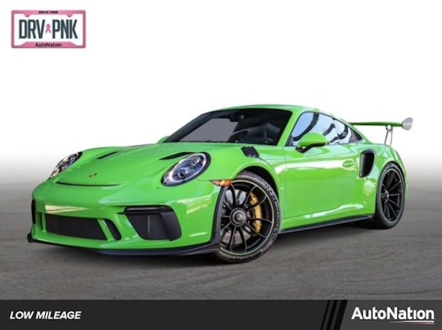 Porsche 911 GT3 RS in Lizard Green