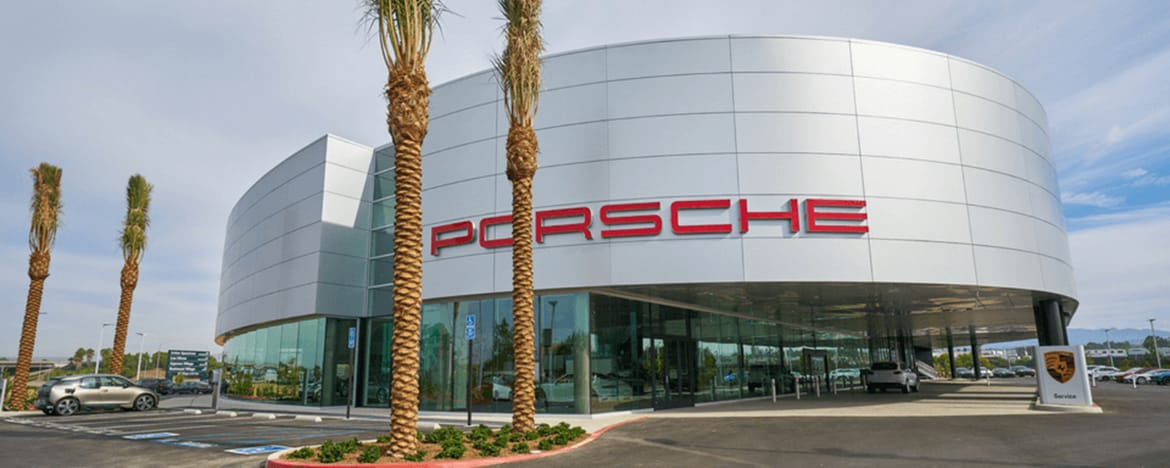 Porsche Irvine dealership photo