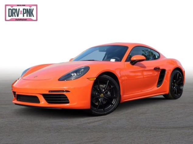 2019 Porsche 718 Cayman in Lava Orange