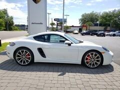 2019 Porsche 718 Cayman S S Coupe