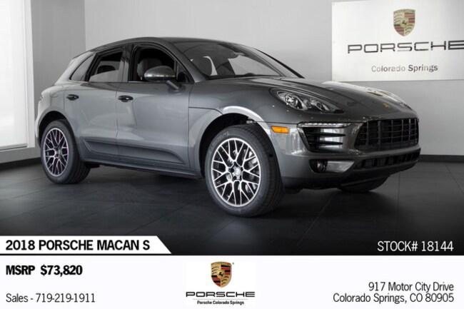 2018 Porsche Macan S SUV