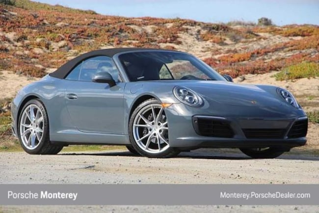 New 2018 Porsche 911 Carrera Cabriolet Cabriolet Monterey, CA