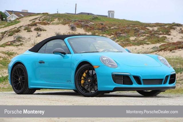 New 2019 Porsche 911 Carrera 4 GTS Cabriolet Cabriolet Miami