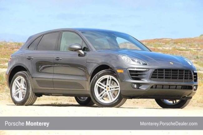 New 2018 Porsche Macan AWD SUV Monterey, CA