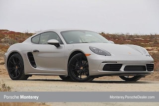 New 2018 Porsche 718 Cayman Coupe Coupe Seaside, CA