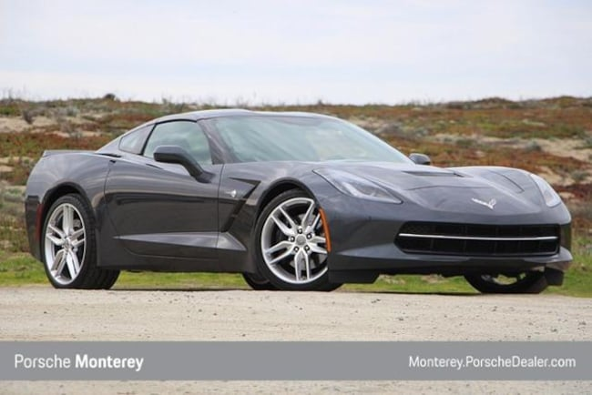 Pre-Owned 2014 Chevrolet Corvette Stingray 2dr Z51 Cpe w/3LT Coupe Monterey, CA
