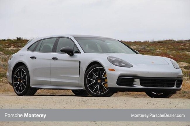 New 2018 Porsche Panamera Sport Turismo 4 AWD Sport Wagon Monterey, CA