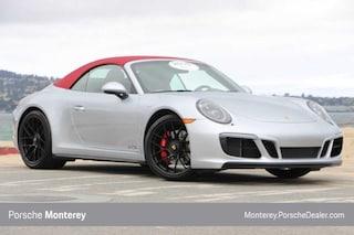 Pre-Owned 2018 Porsche 911 Carrera GTS Cabriolet Cabriolet Monterey, CA