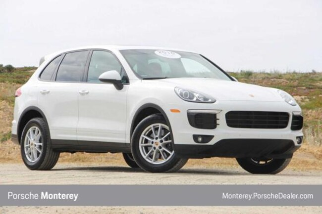 Pre-Owned 2016 Porsche Cayenne AWD 4dr SUV Monterey, CA