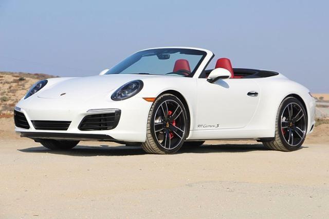 New 2019 Porsche 911 Carrera S Cabriolet Cabriolet White For
