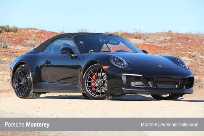 New 2019 Porsche 911 Carrera Gts Cabriolet Cabriolet Black For Sale